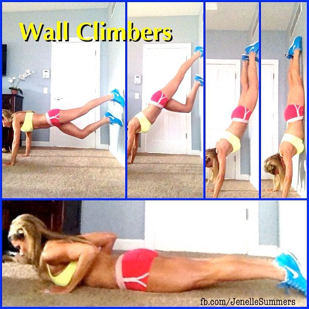 Top tips to tighten and tone your abs chalene johnson for Floor exercises for abs