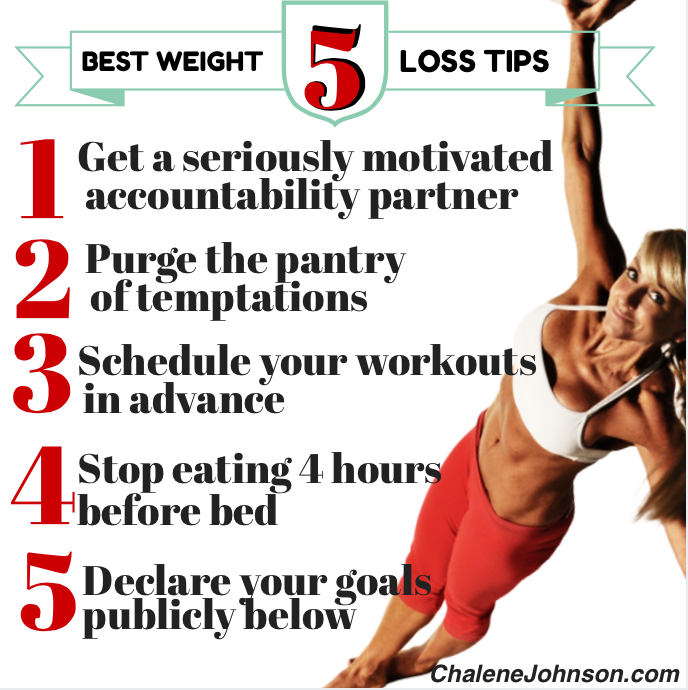 5 best weight loss tips