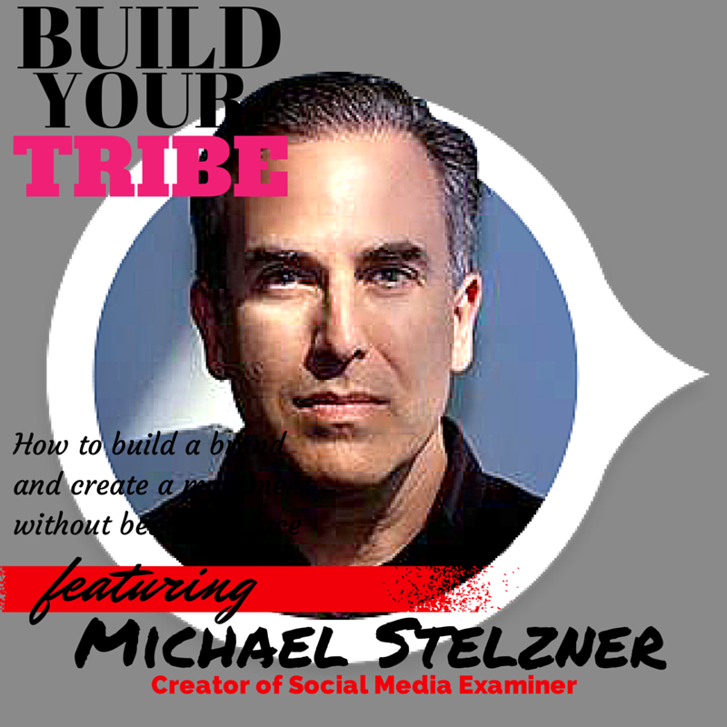 YOU DON'T HAVE TO BE THE BRAND: How Michael Stelzner Founder of the Social Media Examiner created a movement without being the brand