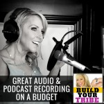 podcast recording on budget