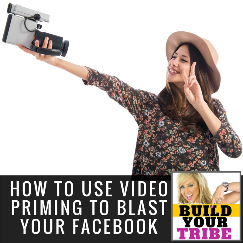How to use video PRIMING to Blast Your Facebook Reach