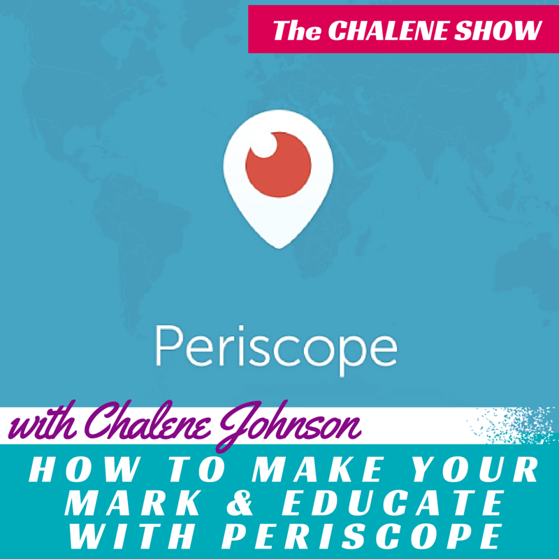 make your mark with periscope