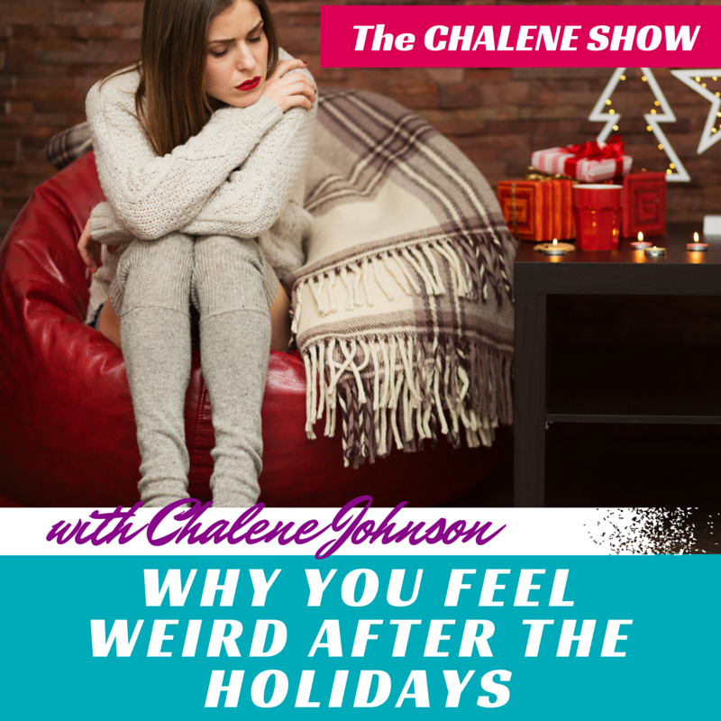 Why You Feel Weird After the Holidays