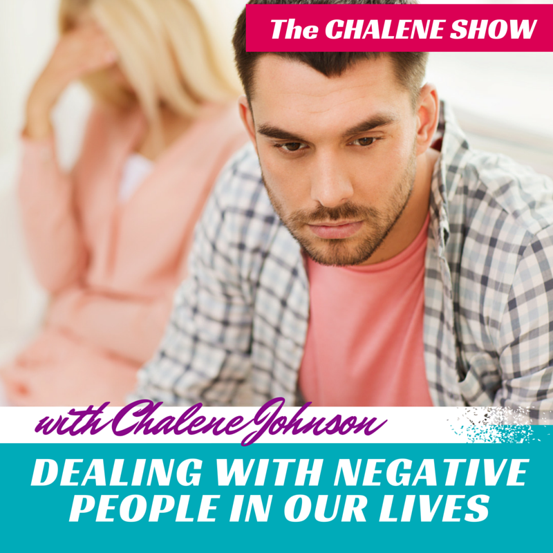 Dealing with Negative People in our Lives