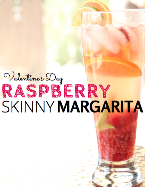 Hangry Chef Raspberry Skinny Margarita