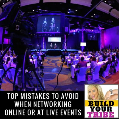 TOP MISTAKES TO AVOID WHEN NETWORKING