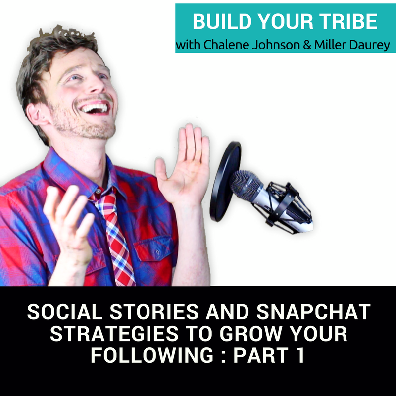 Social Stories and SnapChat Strategies to Grow Your Following : PART 1