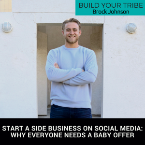 build your tribe start a side business on social media