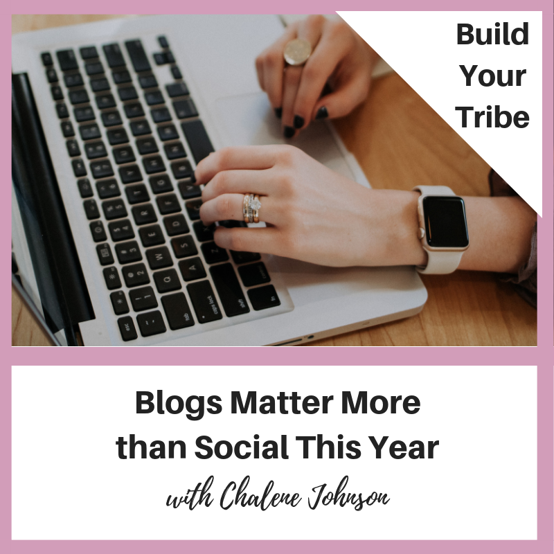 Podcast –  Blogs Matter More Than Socials This Year