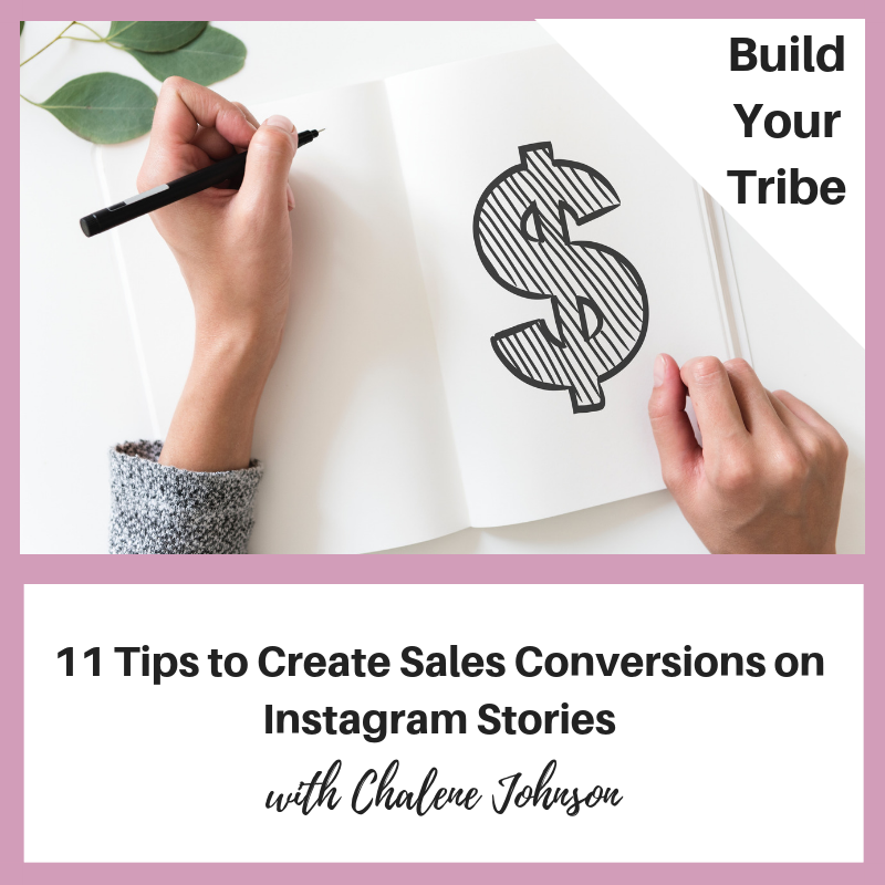 Podcast – 11 Tips to Create Sales Conversions on Instagram Stories