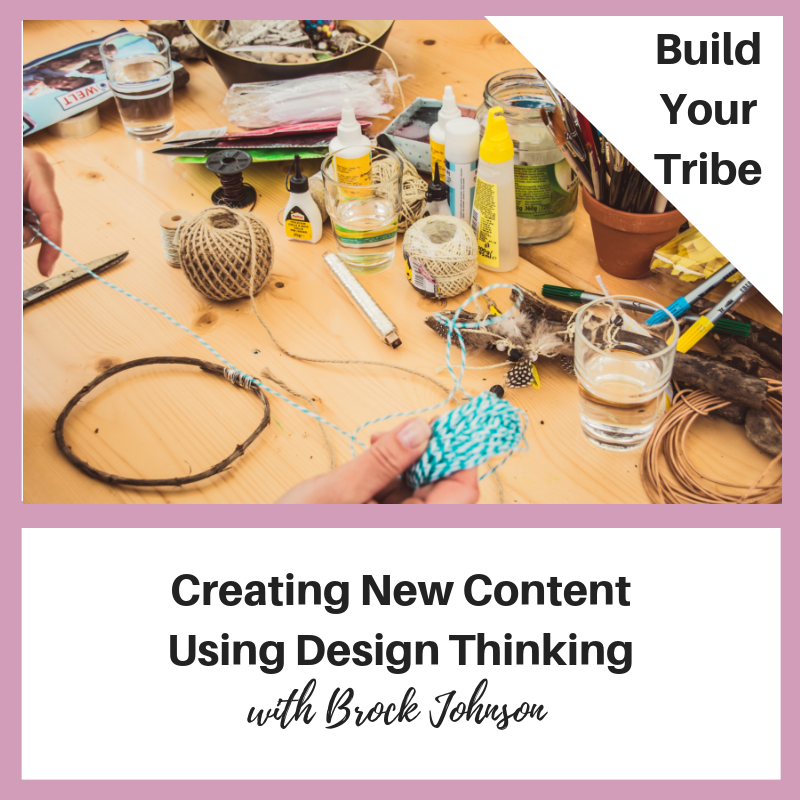 Podcast – Creating New Content Using Design Thinking with Brock Johnson