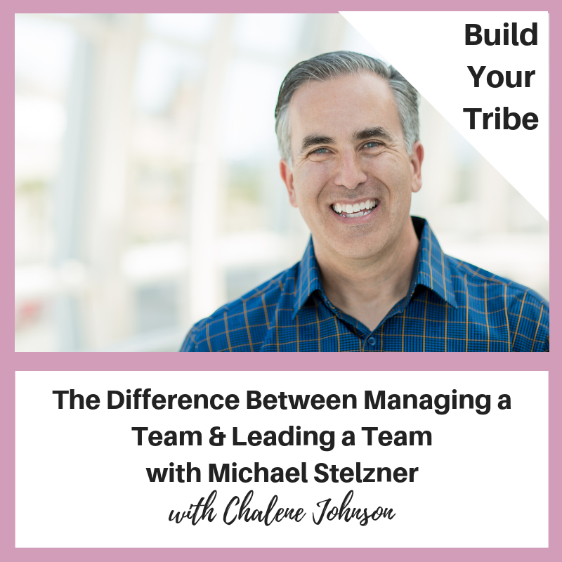 Podcast – The Difference Between Managing a Team and Leading a Team with Michael Stelzner