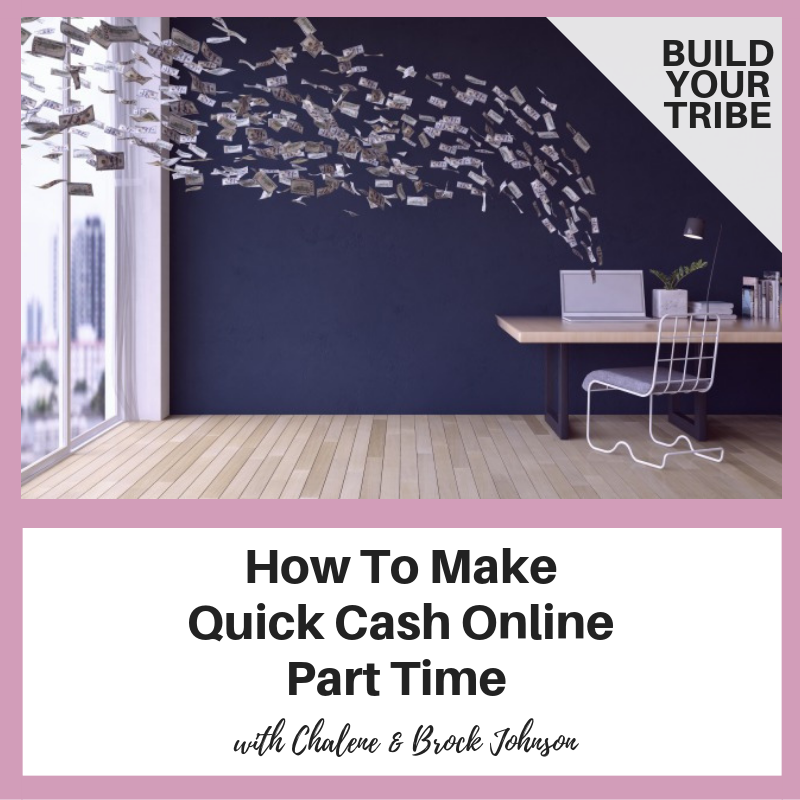 Podcast – How To Make Quick Cash Online Part Time