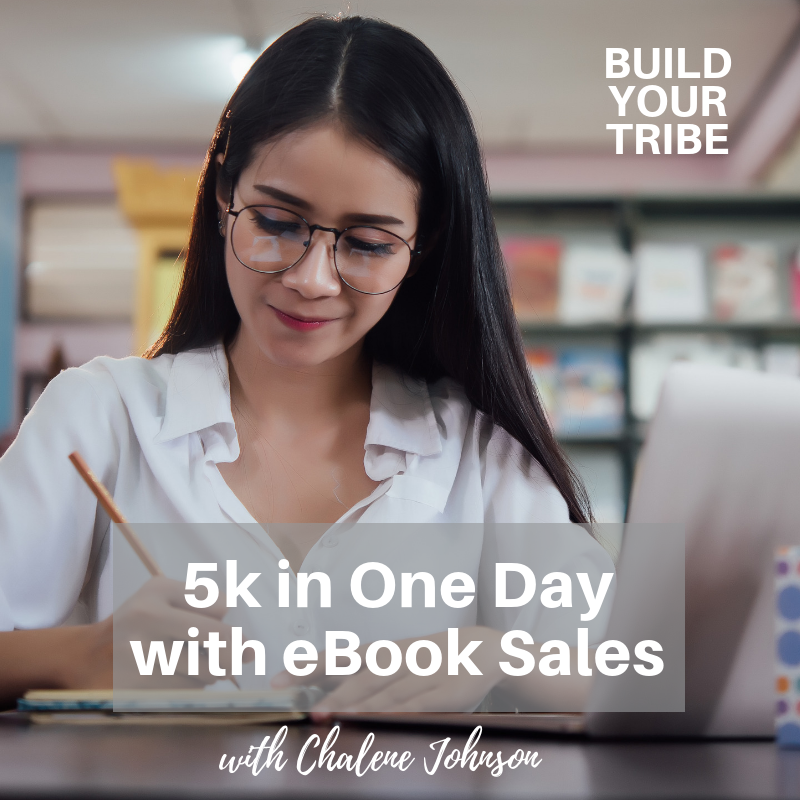 Podcast – 5k in One Day with eBook Sales
