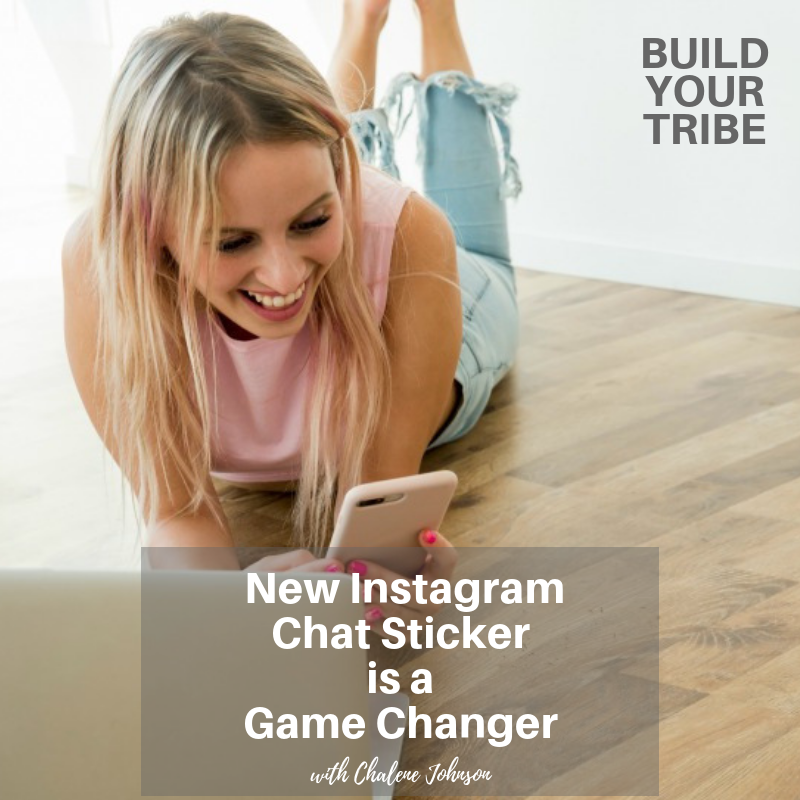Podcast – New Instagram Chat Sticker is a Game Changer