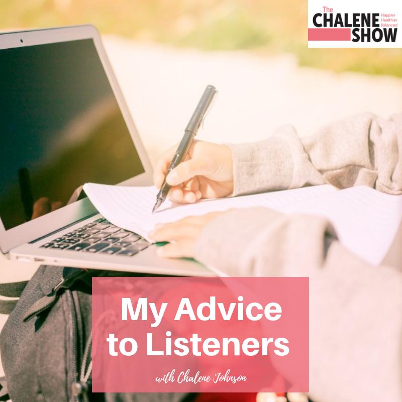 Podcast – My Advice to Listeners | WWCD