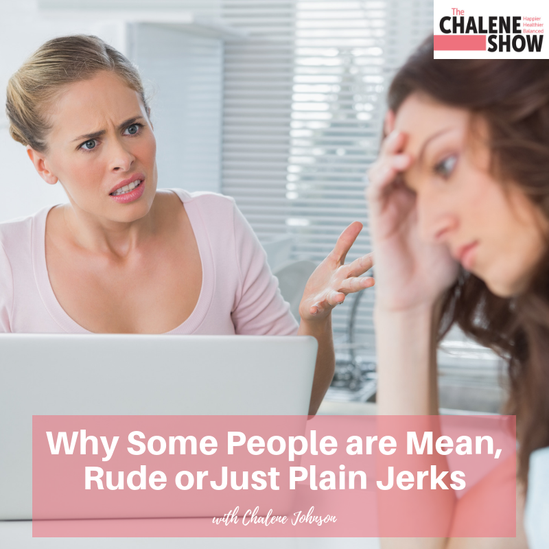 Podcast – Why Some People are Mean, Rude or Just Plain Jerks