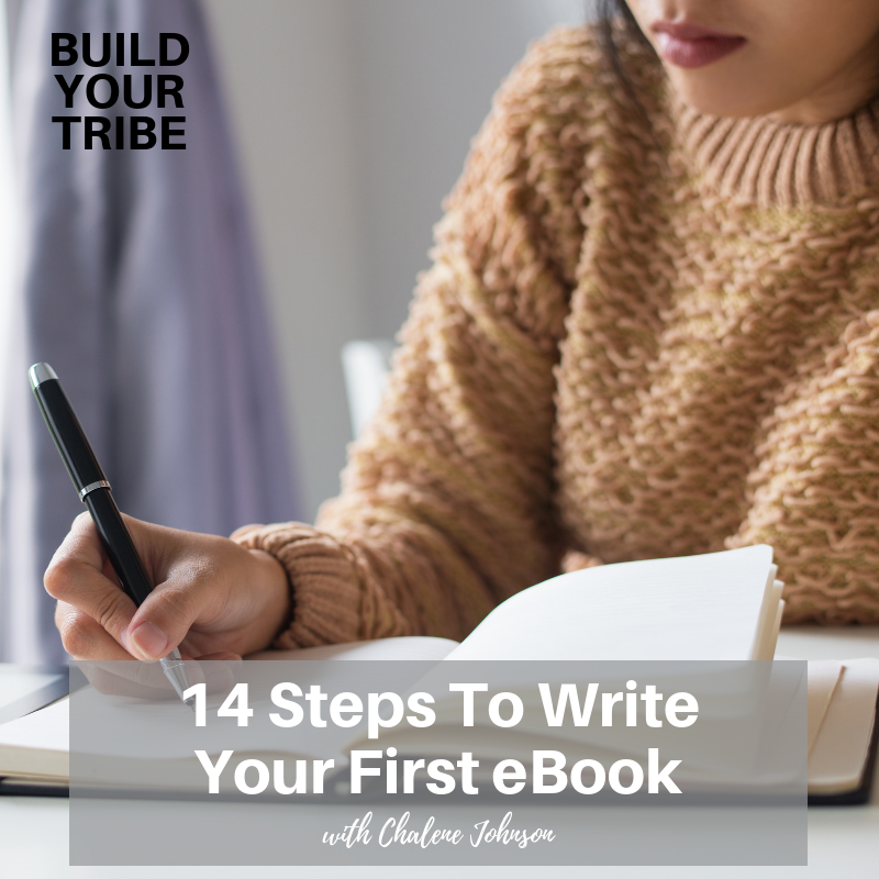 Podcast – 14 Steps To Write Your First eBook