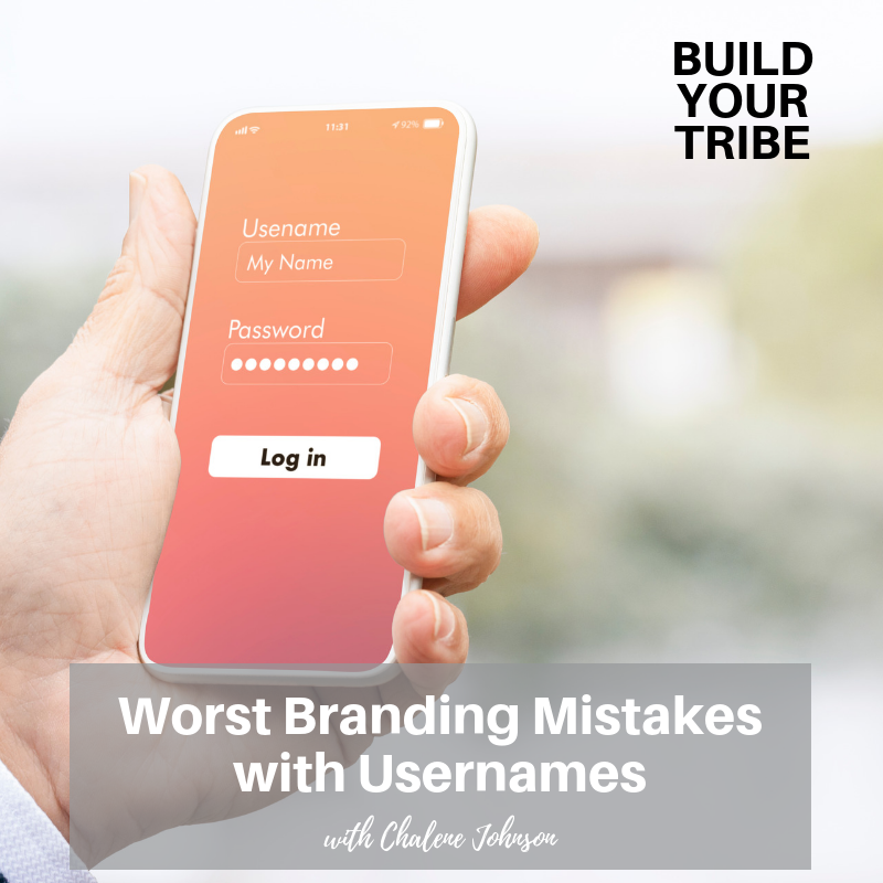 Podcast – Worst Branding Mistakes with Usernames