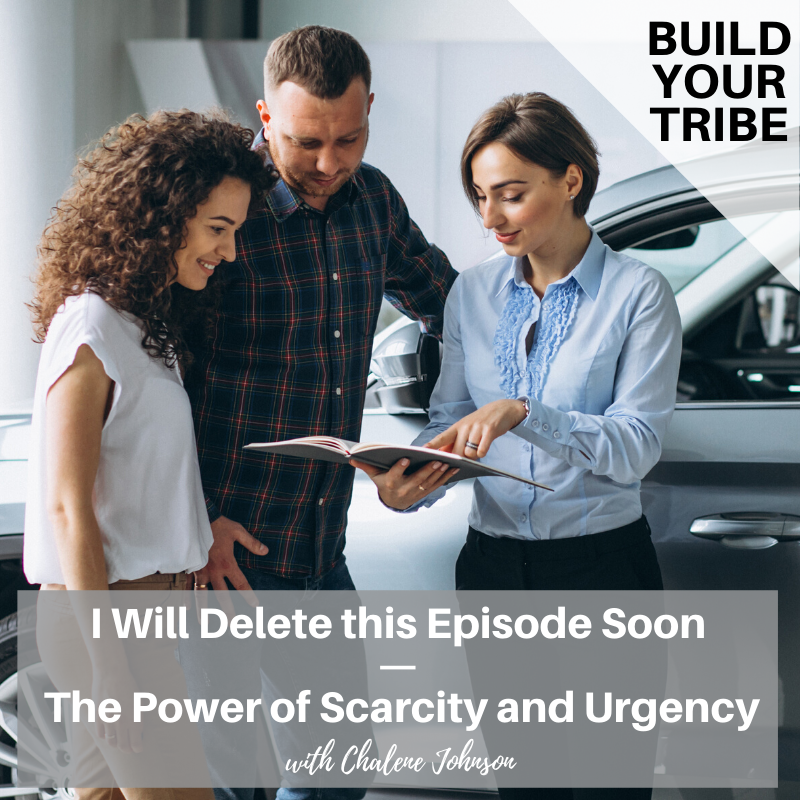 Podcast –  I Will Delete this Episode Soon | The Power of Scarcity and Urgency