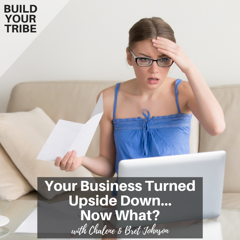 Podcast – Your Business Turned Upside Down…Now What?