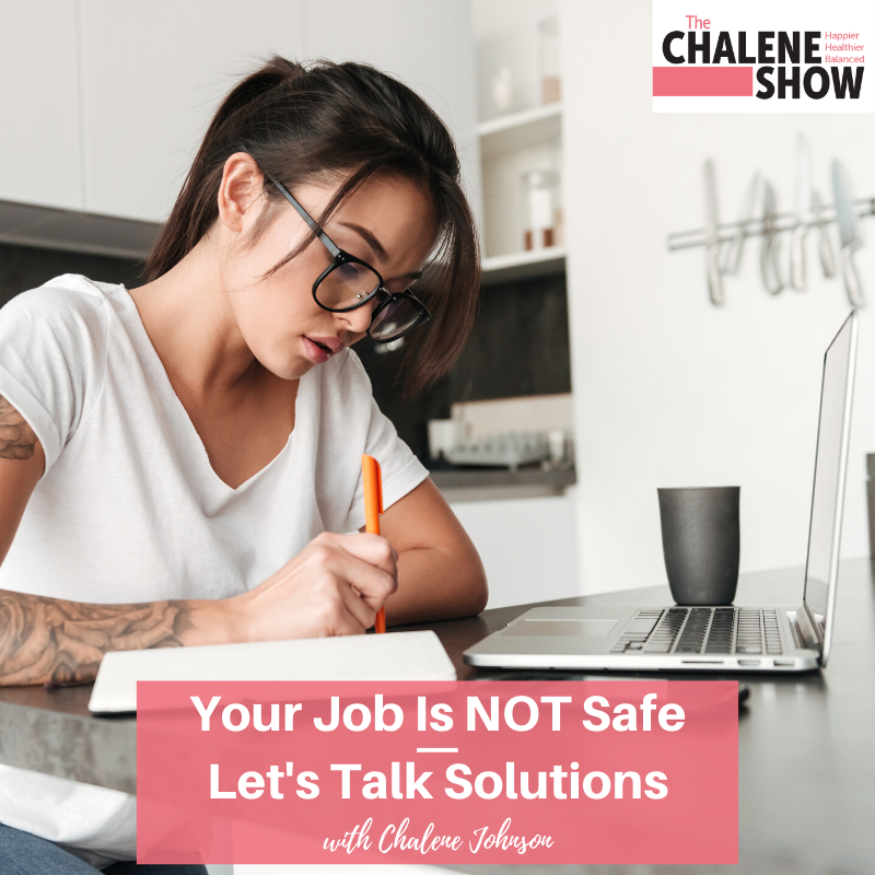 Podcast – Your Job is NOT Safe | Let's Talk Solutions