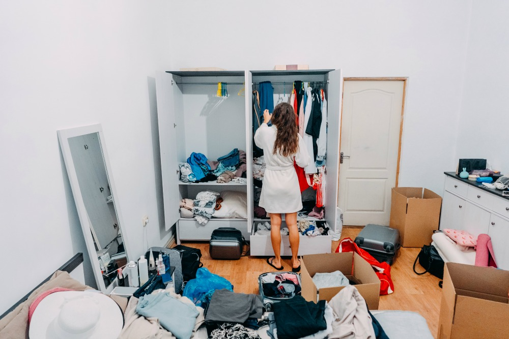 Creative Avoidance Is Organizing Your Closet When You Have Something Else You Want To Do