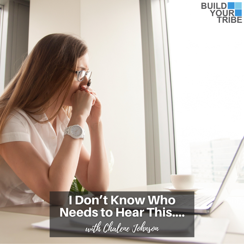 Podcast – I Don't Know Who Needs to Hear This….