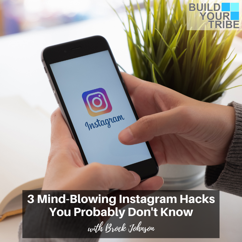 Podcast – 3 Mind-Blowing Instagram Hacks you Probably Don't Know | Quick Tip Tuesday