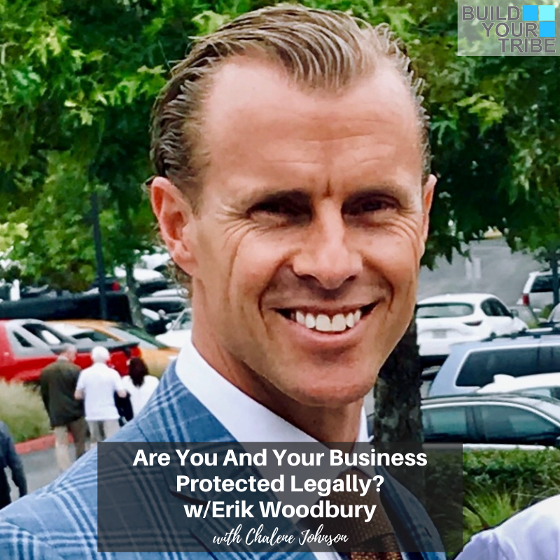 Podcast – Are You and Your Business Protected Legally? with, Erik Woodbury
