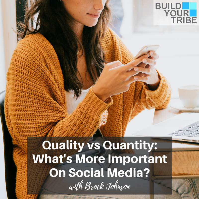 Podcast – Quality vs Quantity: What's More Important On Social Media? | Quick Tip Tuesday