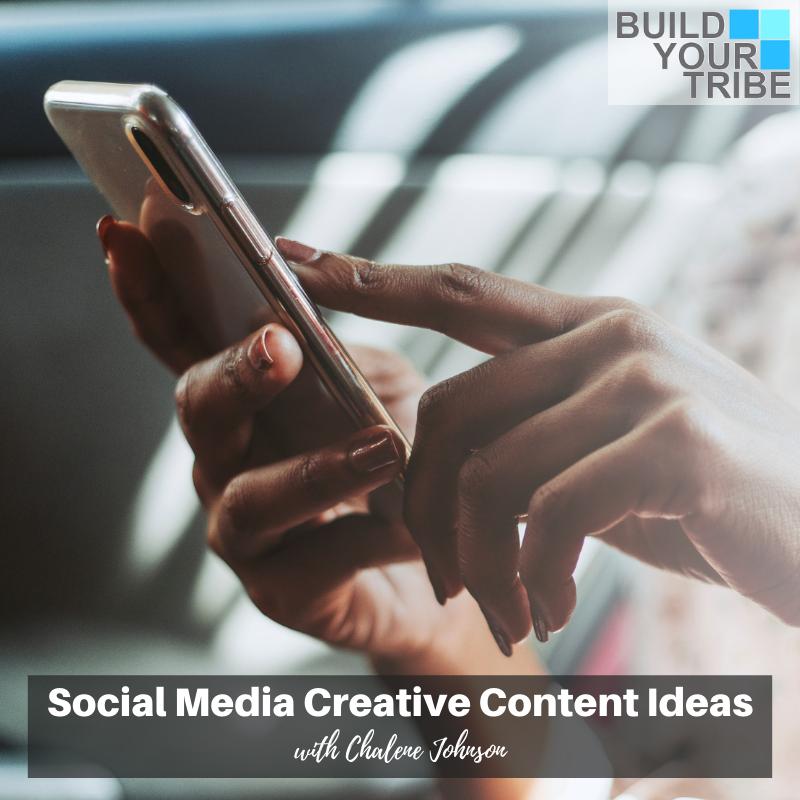 Podcast – Social Media Creative Content Ideas | Quick Tip Tuesday